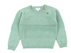 Noa Noa Miniature strikbluse granite green